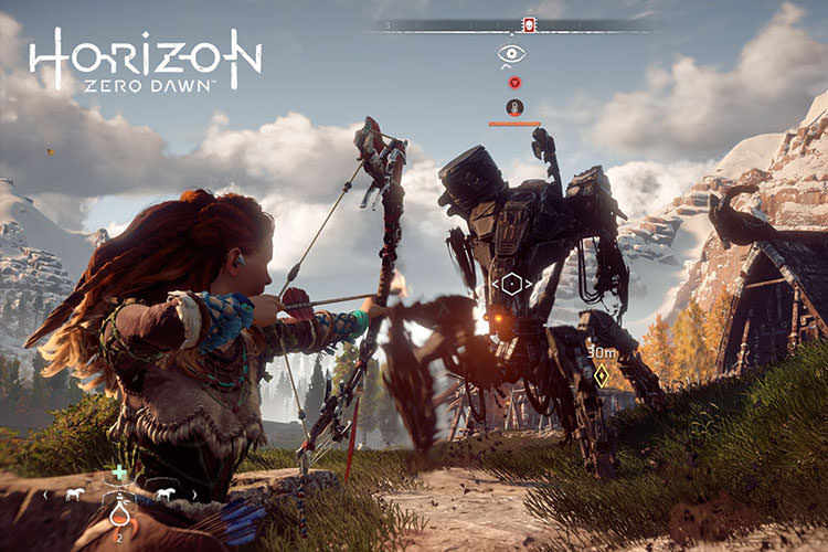 image result for بازی horizon zero dawn