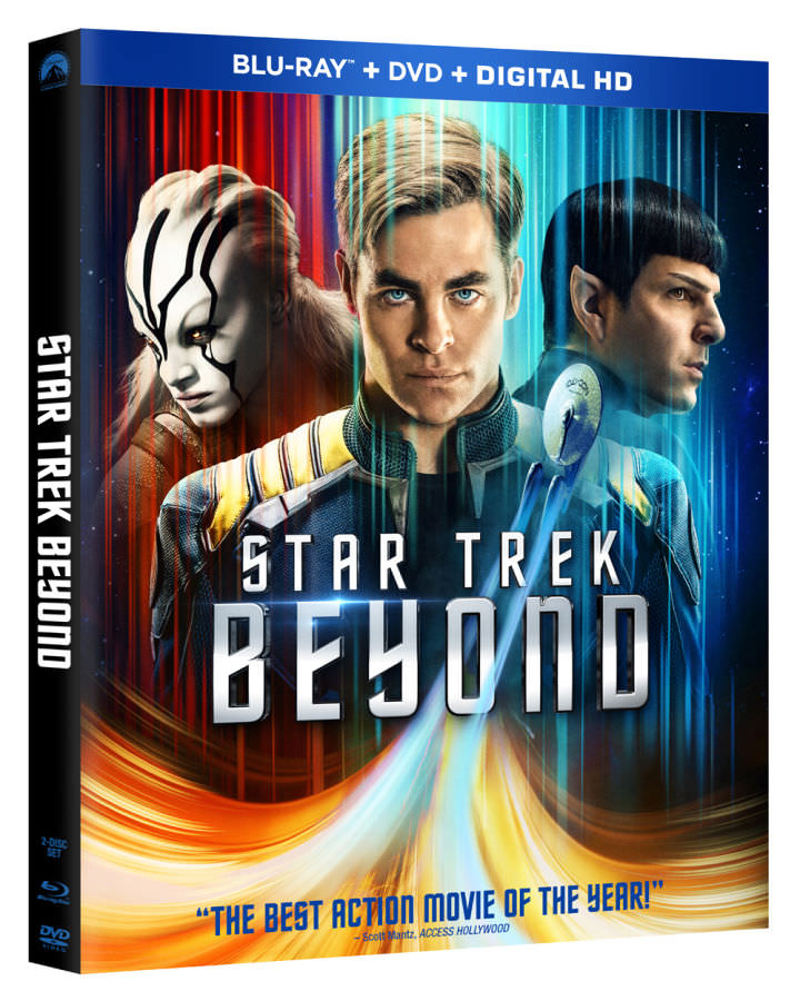 Star Trek Beyond home video release Cover
