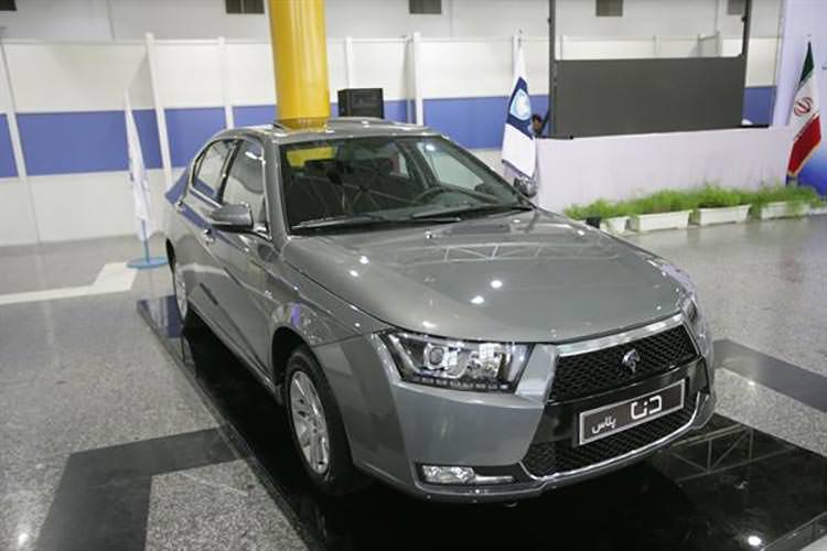 دنا پلاس ایران خودرو رونمایی شد