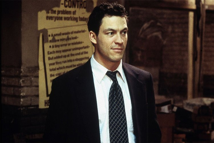 Dominic West in the wire