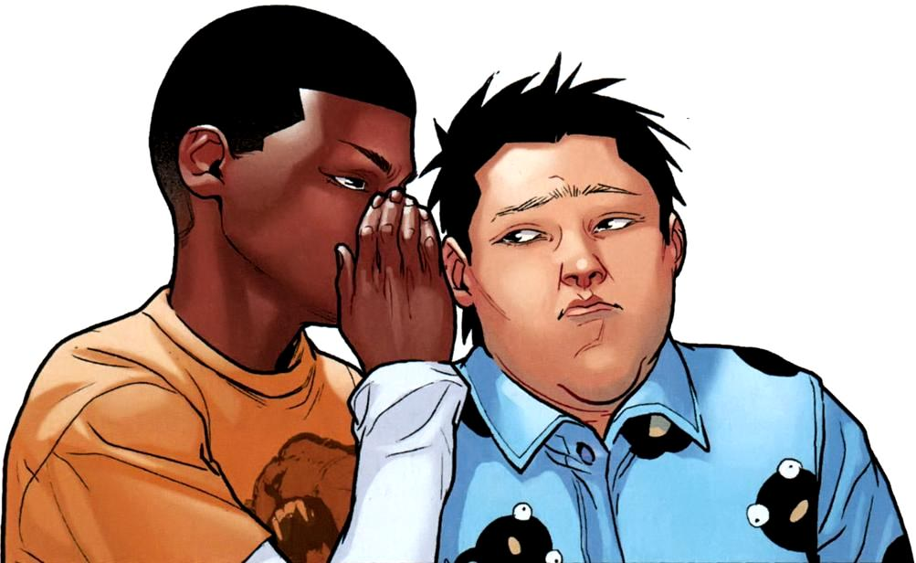 Ganke Lee and miles morales