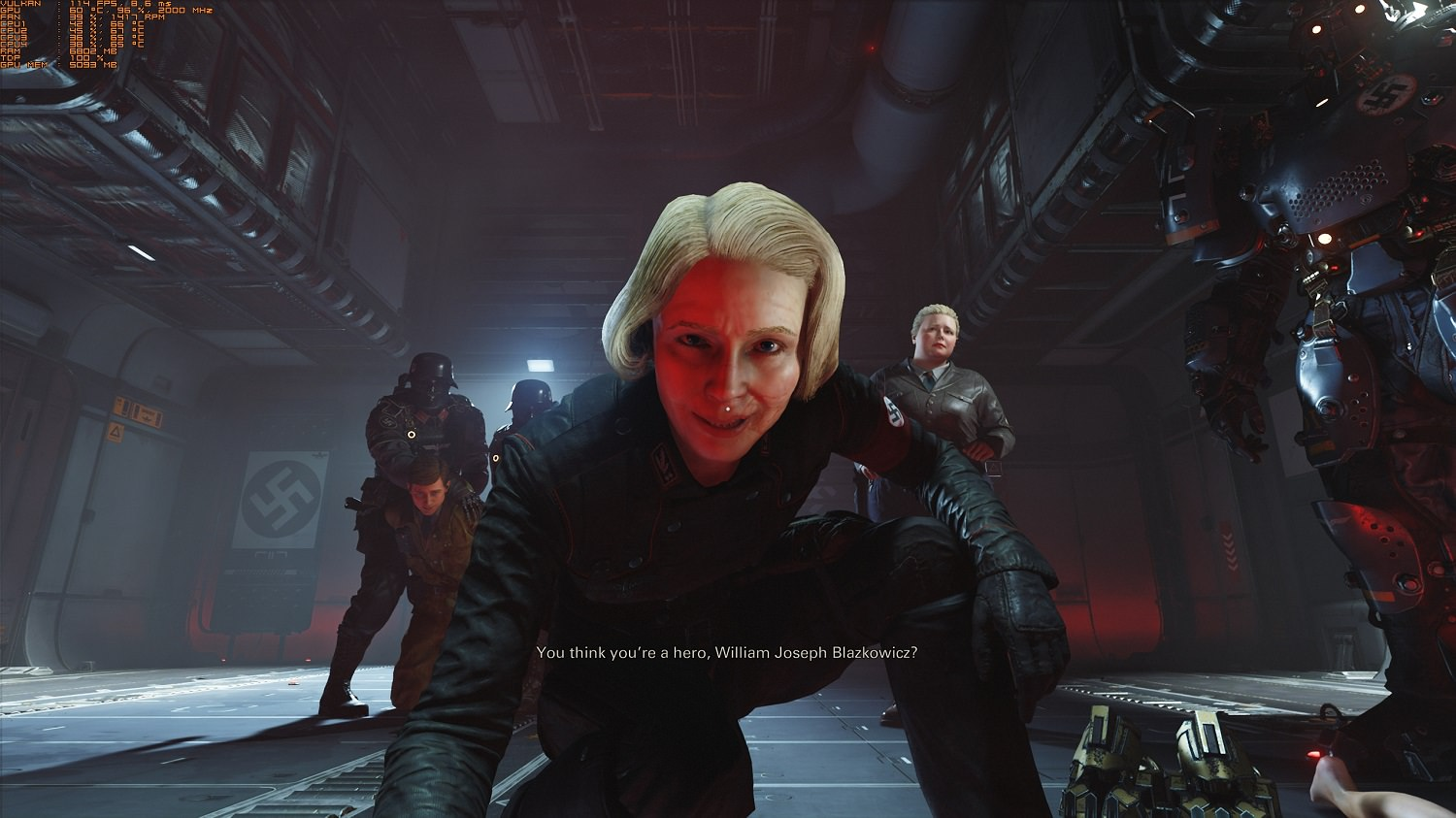 Wolfenstein II: The New Colossus in game Shots