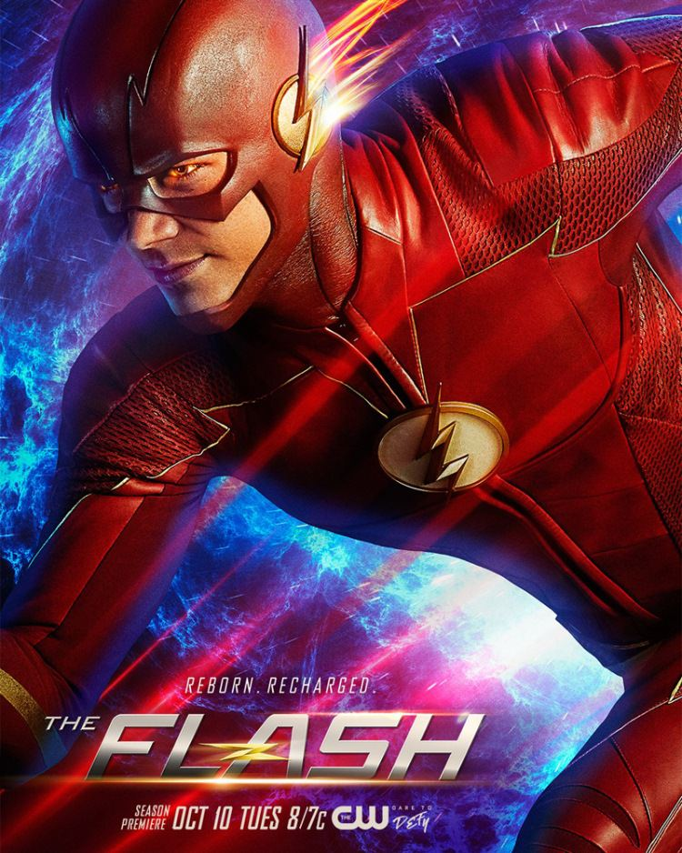 The Flash Official Poster Season 4