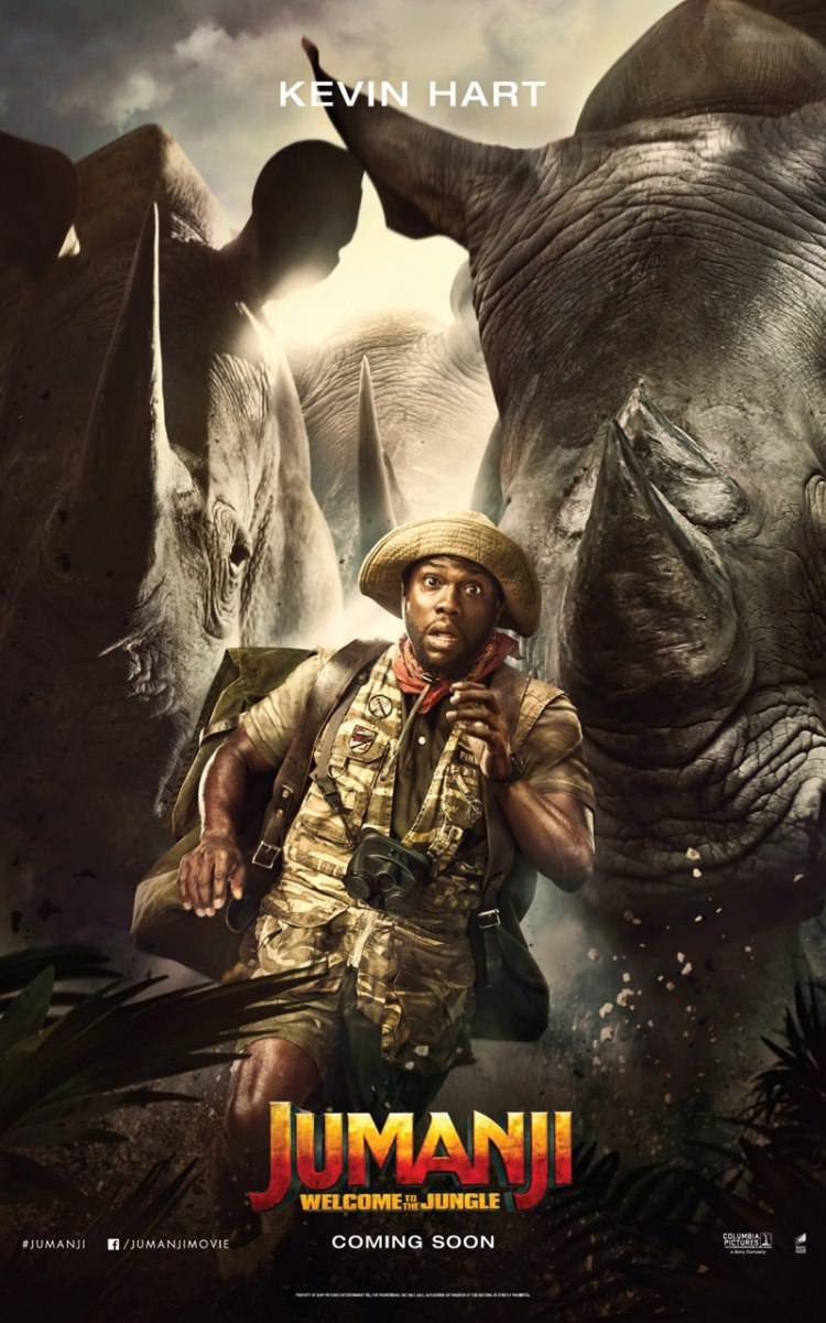 Jumanji: Welcome to the Jungle character posters