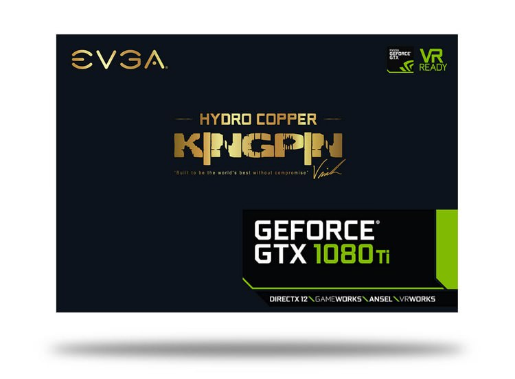 EVA GTX 1080 Ti KINGPIN Hydro Copper