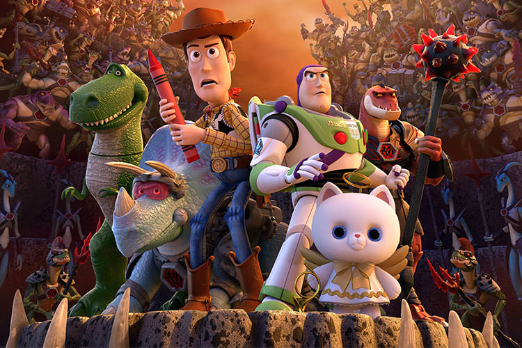 انیمیشن کوتاه Toy Story That Time Forgot