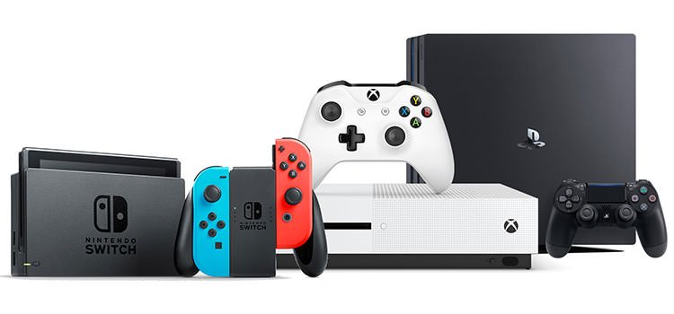 ps4 switch xbox one