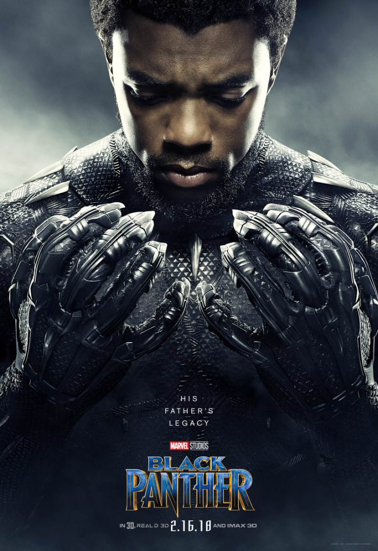 Black Panther Character Posters