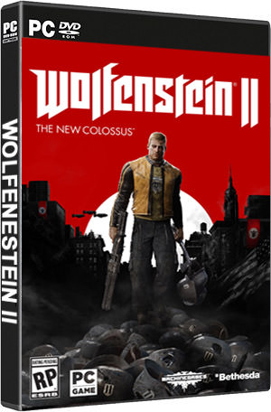 Wolfenstein II: The New Colossus-pc-box ART