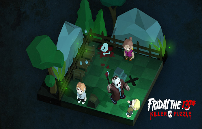 بازی Friday the 13thKiller Puzzle