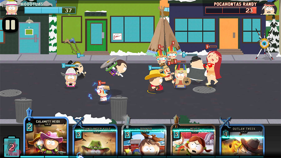 بازی موبایل South Park: Phone Destroyer