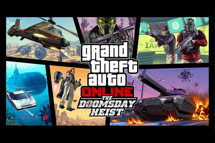 بسته The Doomsday Heist بازی GTA Online معرفی شد [The Game Awards 2017]