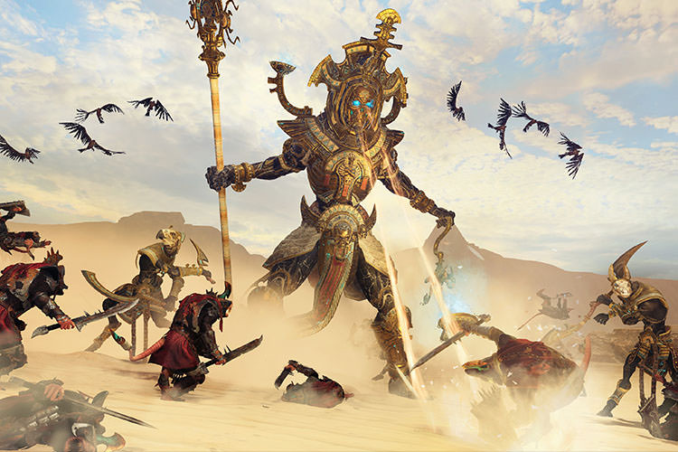 بسته Tomb Kings بازی Total War: Warhammer II معرفی شد