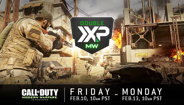 Call Of Duty: Modern Warfare Remastered Double XP