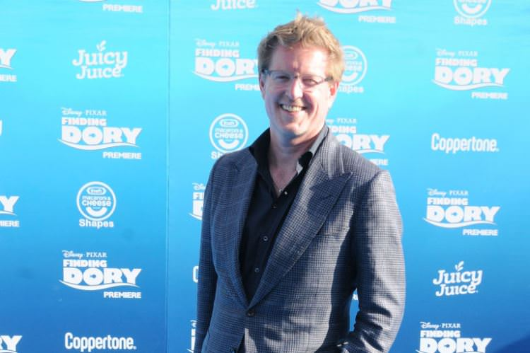 Andrew Stanton at the Finding Dory