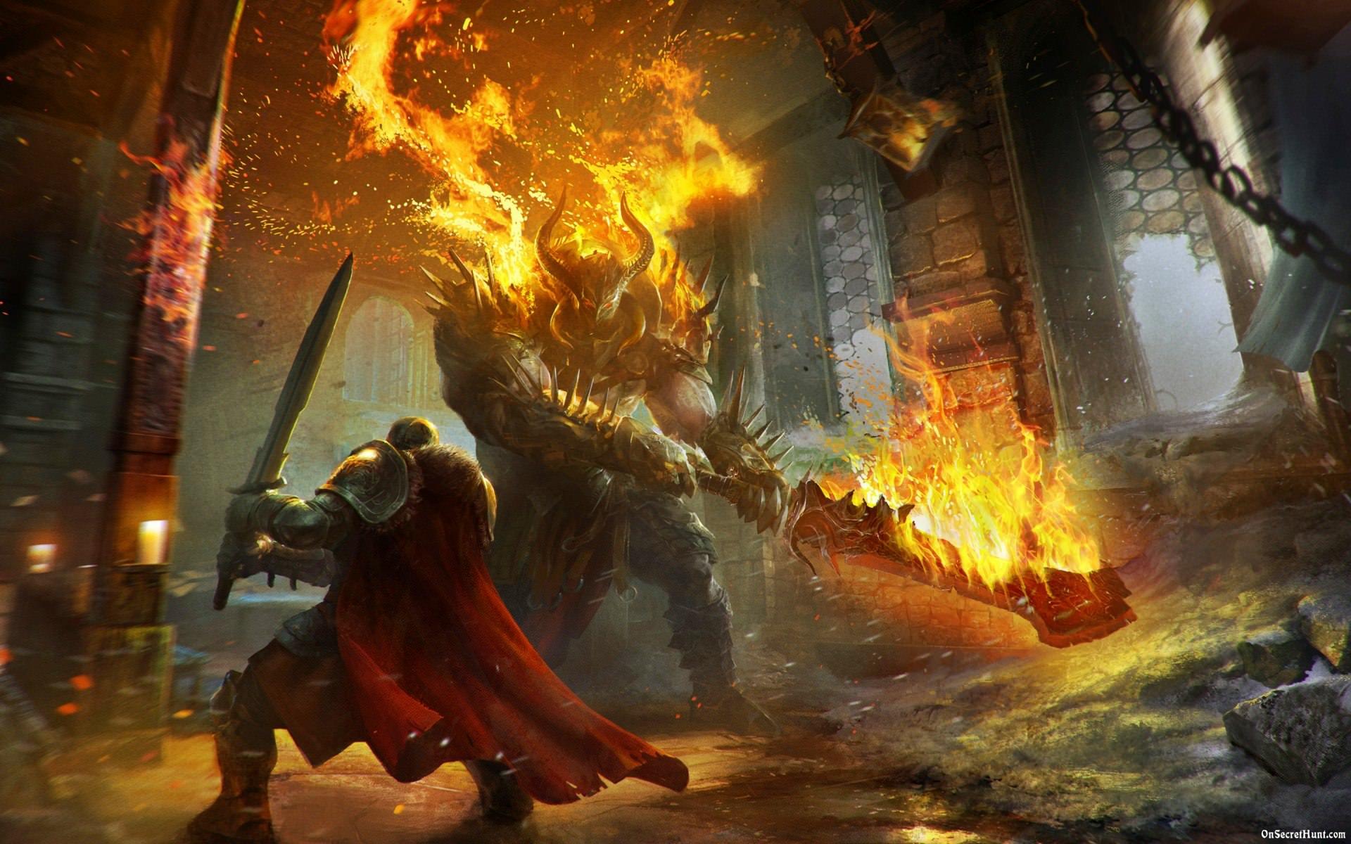 بررسی بازی موبایل Lords of the Fallen