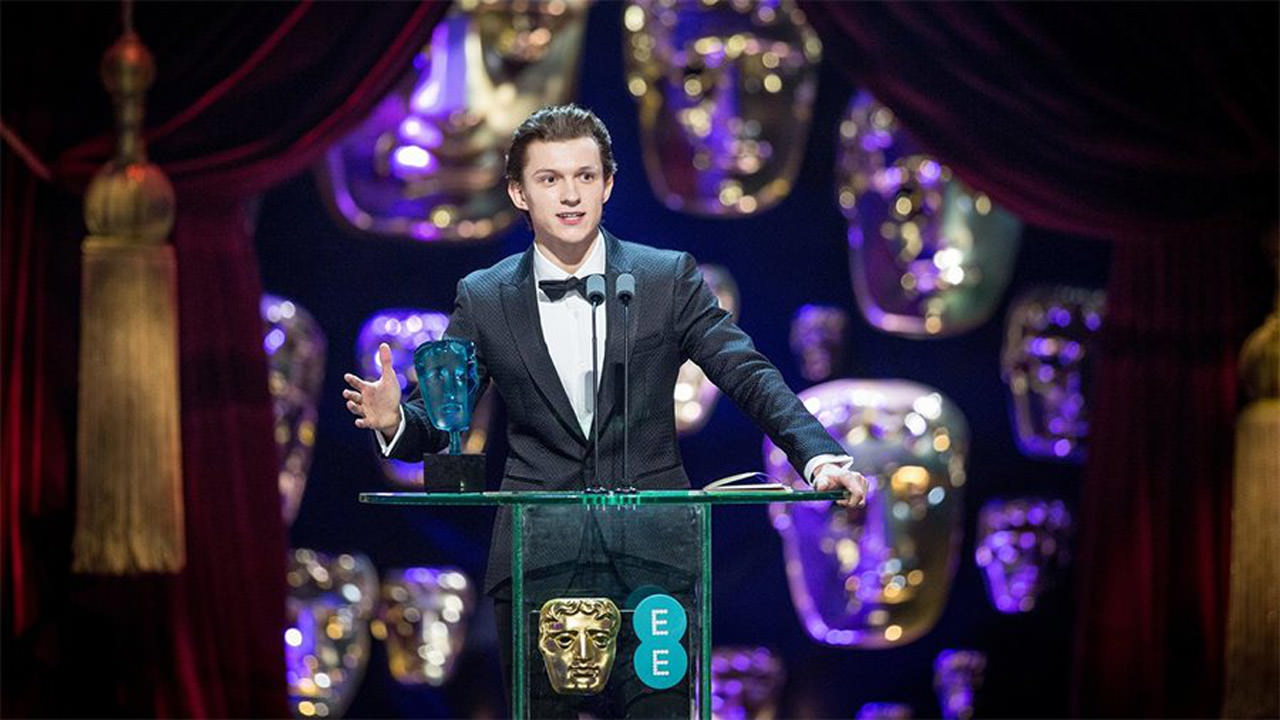 Tom Holland BAFTA Rising Star Award