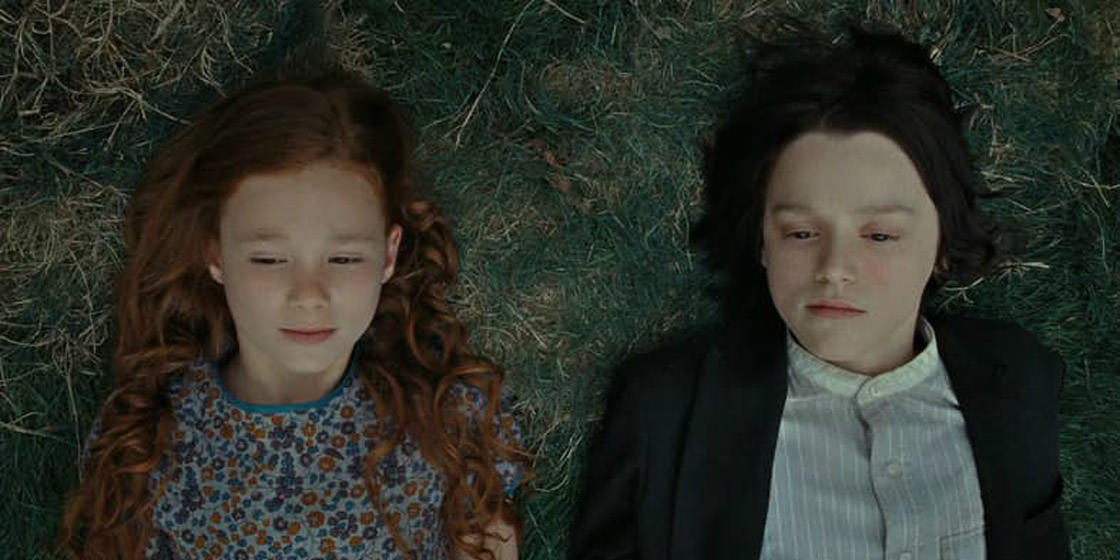 Petunia and Snape knew (and hated) each other - Harry potter