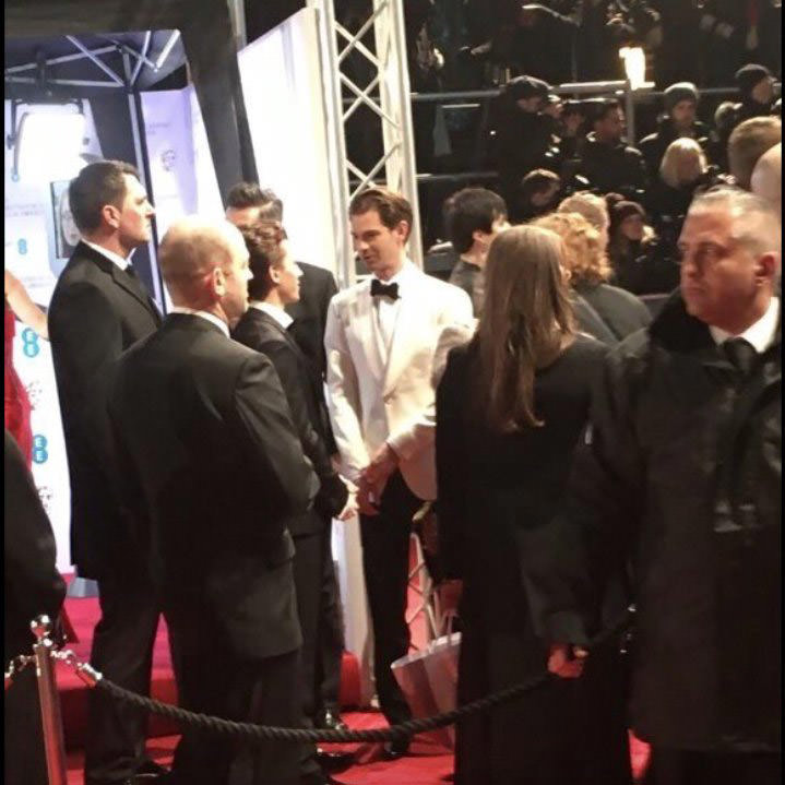 Tom Holland and Andrew Garfield  BAFTA