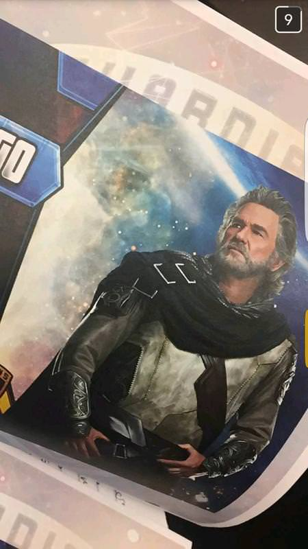 Guardians of the Galaxy 2: First Look at Kurt Russell as Ego