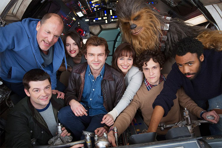 Han Solo Movie New Cast Image Released