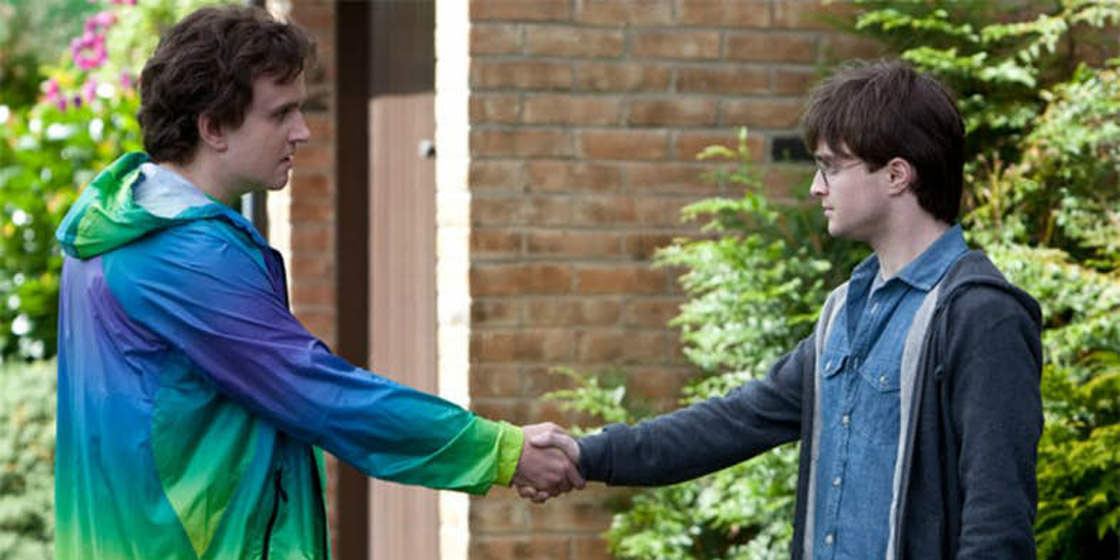 Dudley and Harry Potter kept in touch