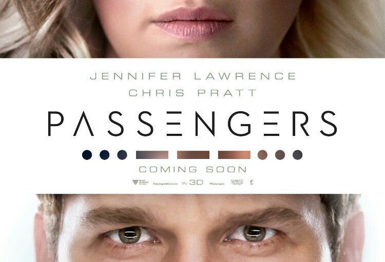 The passengers Chris Pratt Jennifer Lawrence
