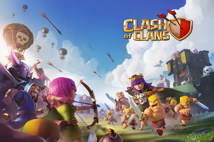 بازی Clash of Clans پنج ساله شد