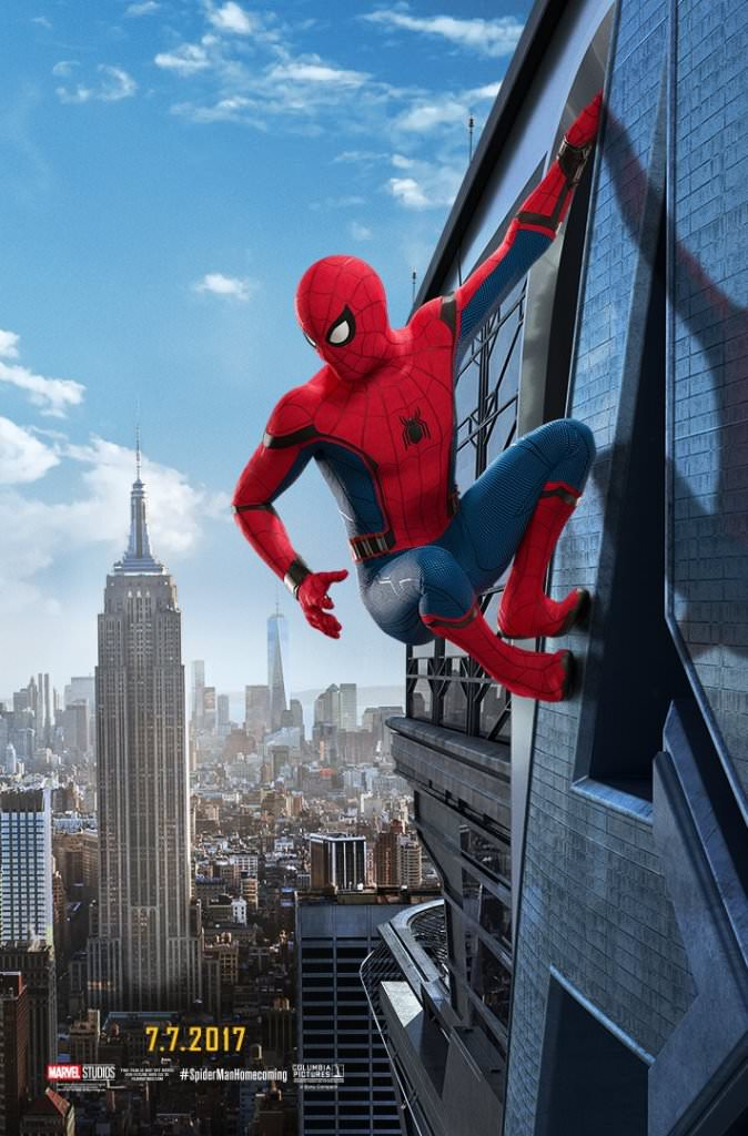New Spider-Man: Homecoming Posters