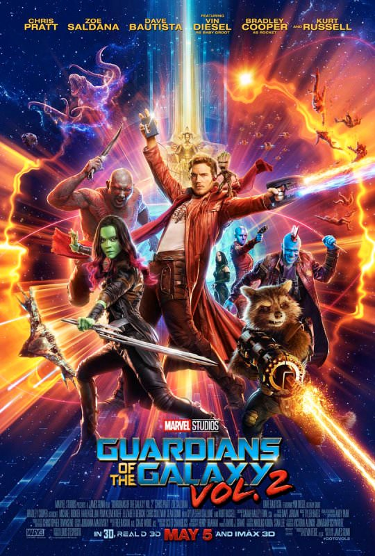 Guardians of the Galaxy Vol. 2 new poster