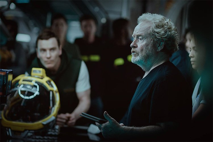 Ridley Scott in Alien: Covenant