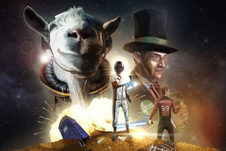 انتشار بسته Waste of Space بازی Goat Simulator برای پلی استیشن 4