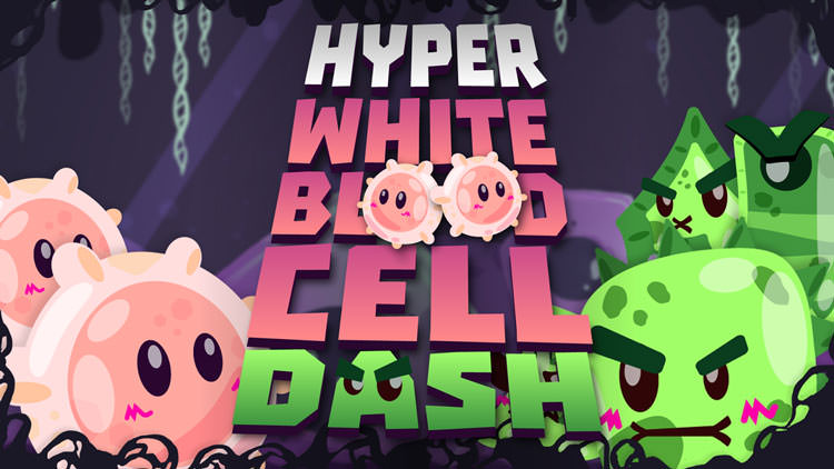بازی Hyper White Blood Cell Dash