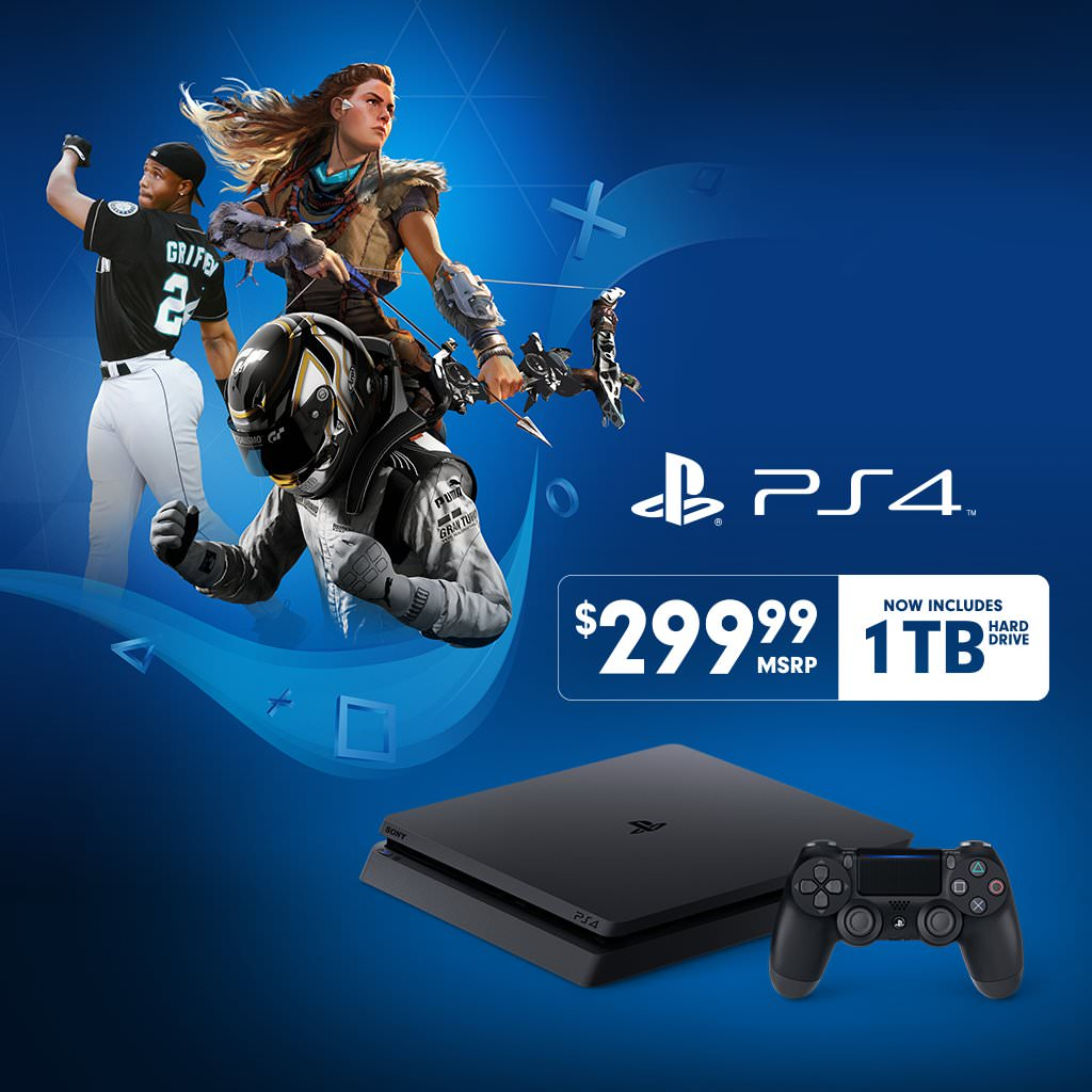 Playstation 4 slim 1 TB US