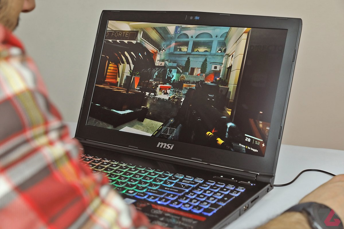 MSI GE62 7RE ZoomG