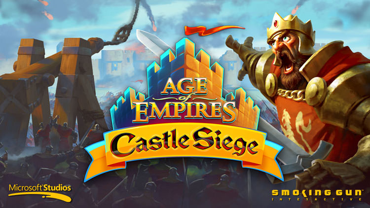 بازی Age of Empires: Castle Siege