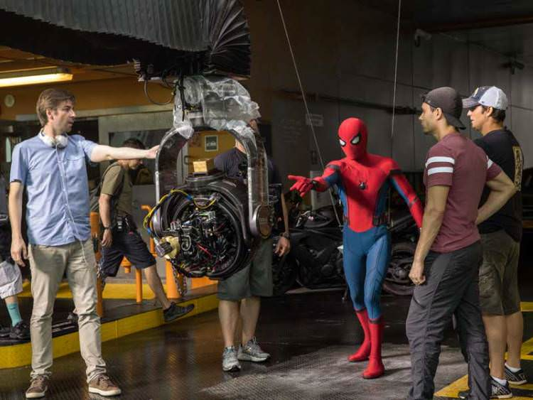 New BTS Images Spider-Man: Homecoming