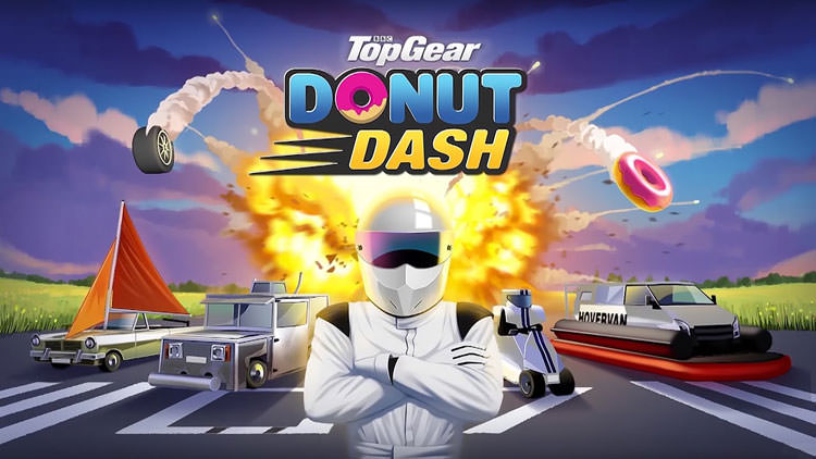 بازی Top Gear: Donut Dash