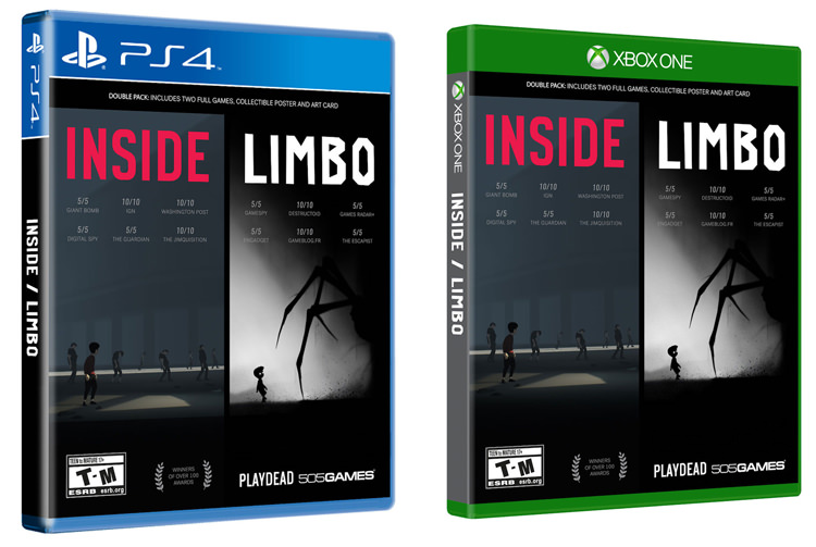Limbo/Inside Physical Double Pack
