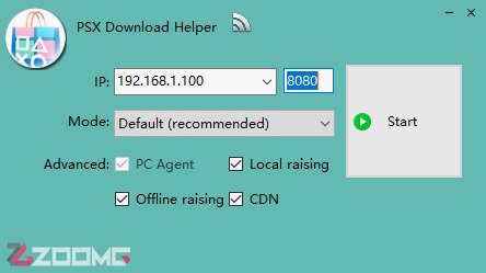 آموزش PSX Download Helper
