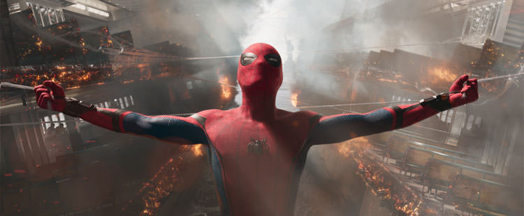 فیلم spider-man homecoming