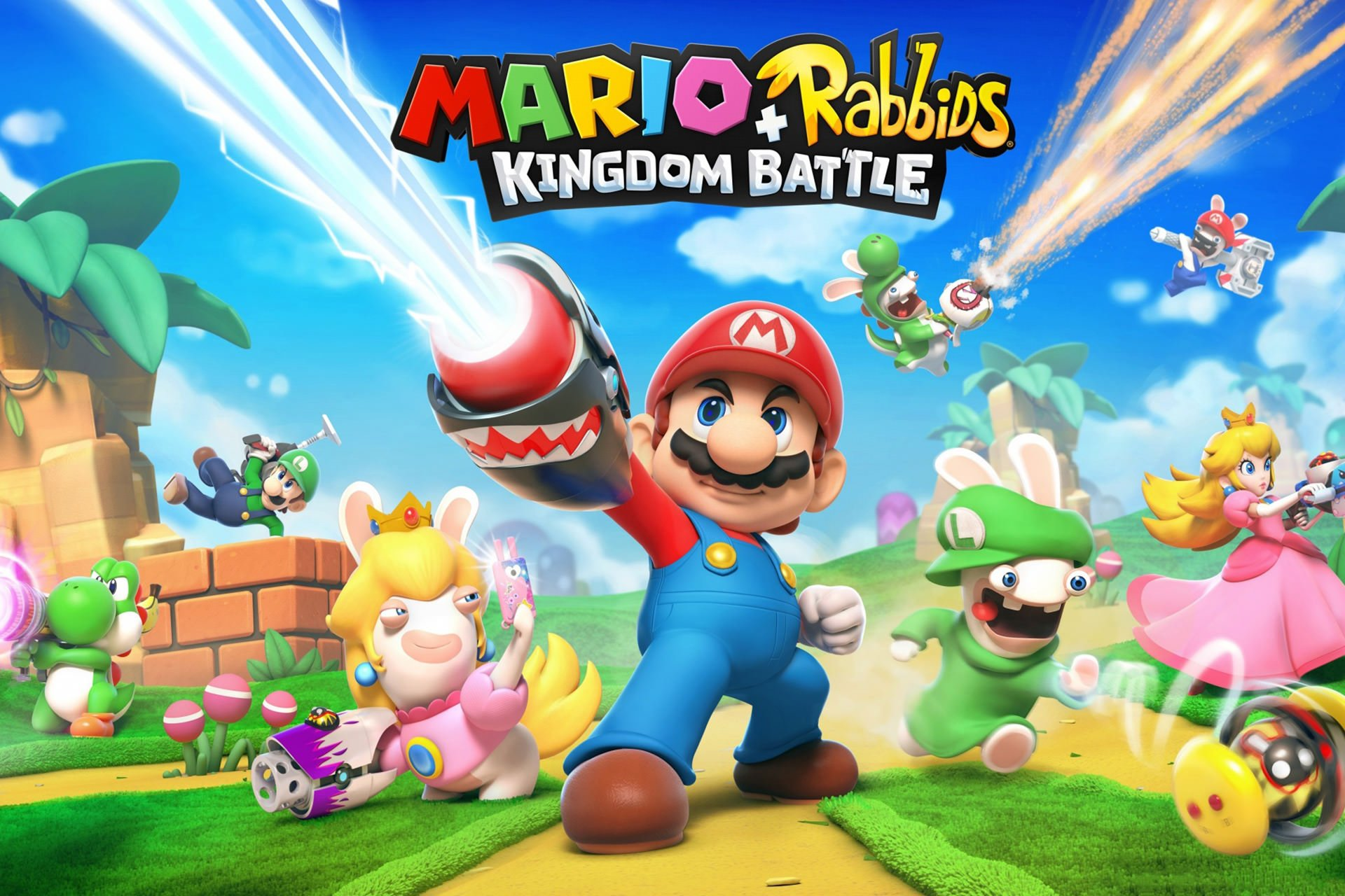 بررسی بازی Mario + Rabbids: Kingdom Battle