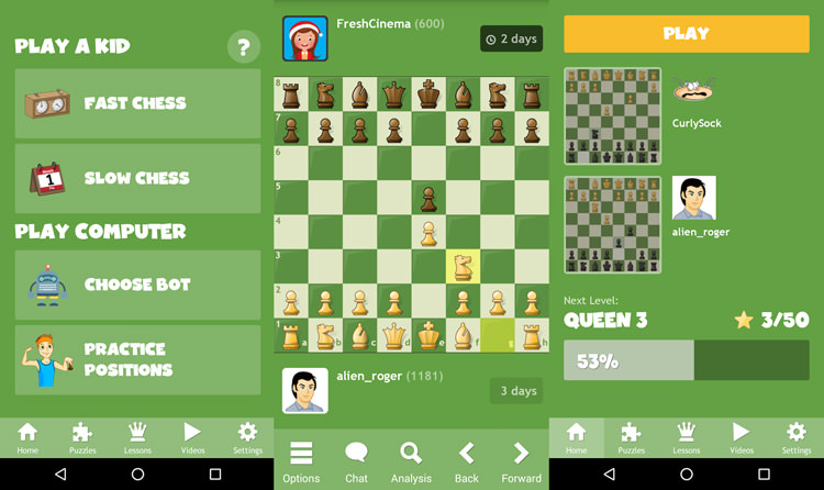 بازی Chess for Kids
