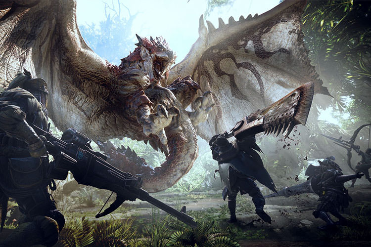 Monster Hunter: World بازی
