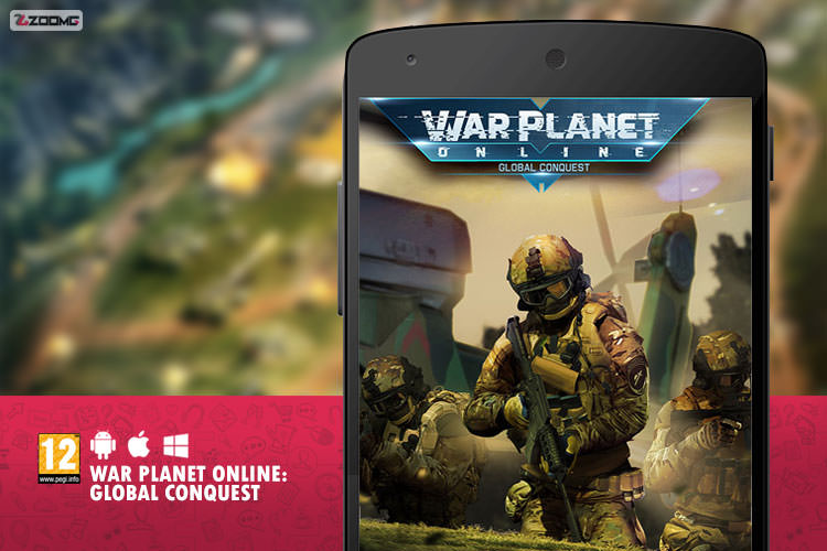 معرفی بازی موبایل War Planet Online: Global Conquest