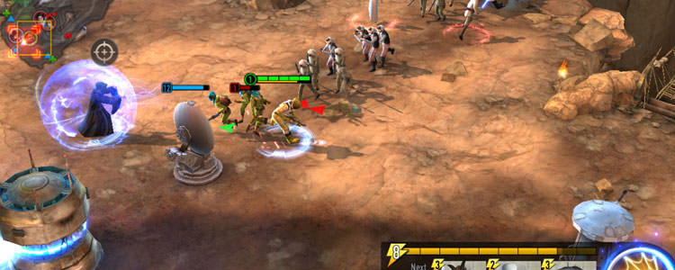 بازی Star Wars: Force Arena