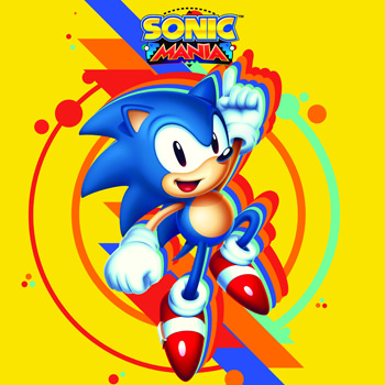 Sonic Mania soundtrack cover