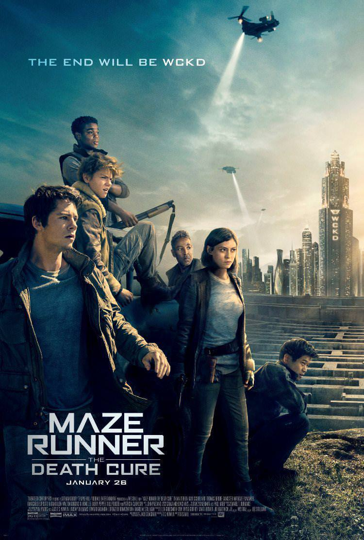 Maze Runner: The Death Cure Posters