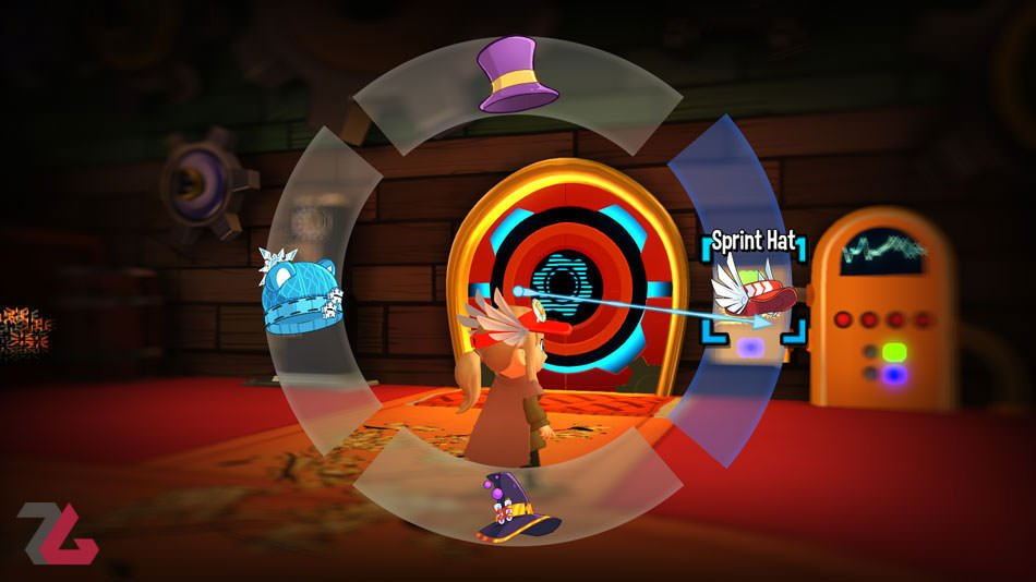 بازی a hat in time