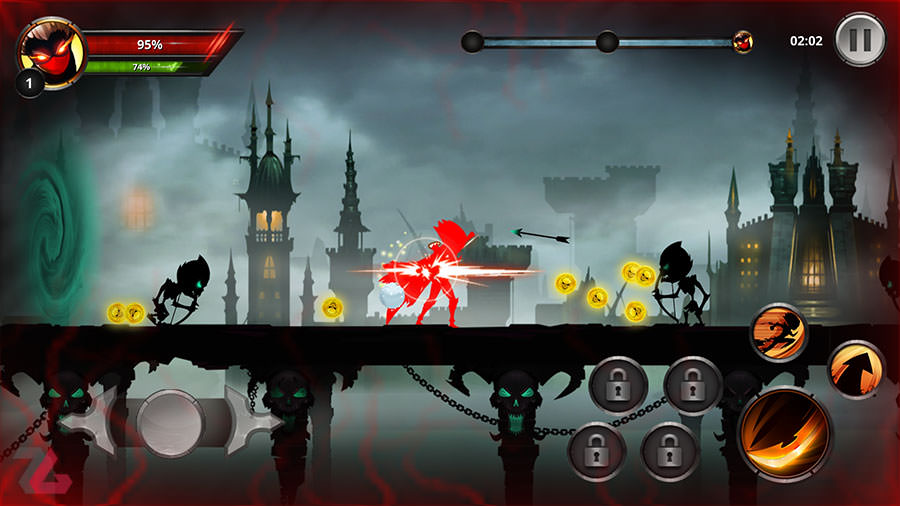 بازی Stickman Legends: Shadow Wars